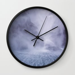 Waterfall Spray Wall Clock