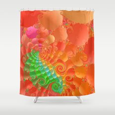 Fractal 107 Shower Curtain