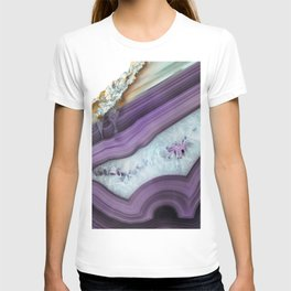 Purple Agate Slice T-shirt