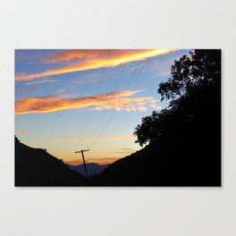There is always Light at the end of the Tunnel...  Canvas Print
