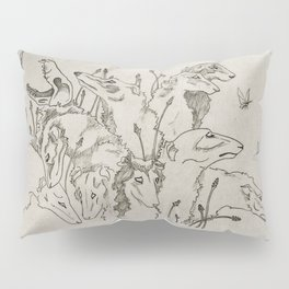 The Greyhound & The Moth Pillow Sham