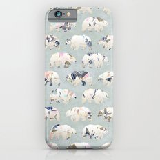 Psychedelic Bears Slim Case iPhone 6s