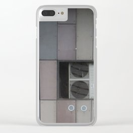 architecture of inhuman Clear iPhone Case