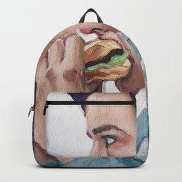Jughead Jones Eats a Burger - Riverdale Backpack
