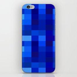 Blue Mosaic iPhone Skin