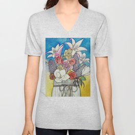 All These Flowers Are Dead Unisex V-Neck