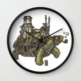 Steampunk Turtle Wall Clock