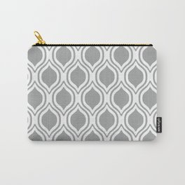 Grey and white Alabama pattern university of alabama crimson tide college Carry-All Pouch