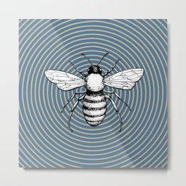 Pop Art  Bee Metal Print