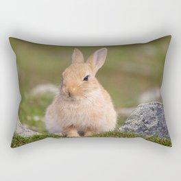 Mopsy the rabbit Rectangular Pillow