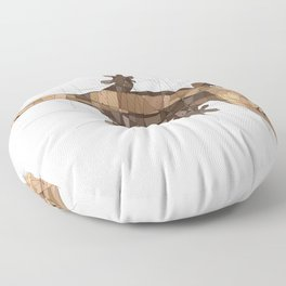 Crested Gecko Floor Pillow