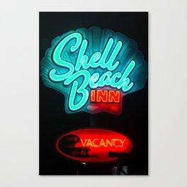 shell beach vacancy Canvas Print