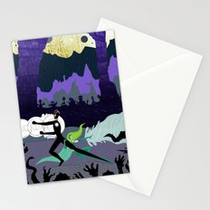 Power Couple Stationery Cards
