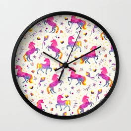 Unicorn Jubilee Wall Clock