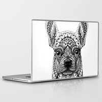 bioworkz Laptop & iPad Skins featuring Frenchie by BIOWORKZ