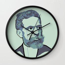 Machado de Assis Wall Clock