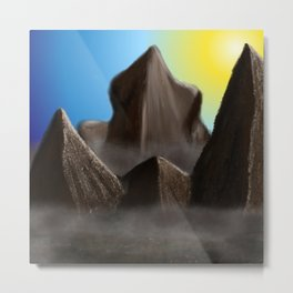 World of Illusion Metal Print