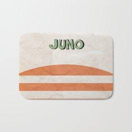 Juno - Alternative Movie Poster, classic movie, funny movie, minimal movie poster Bath Mat