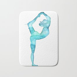 The lord of the dance yoga Bath Mat