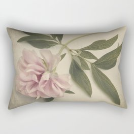Scents of Spring - Pink Peony ii Rectangular Pillow