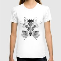 watchmen T-shirts featuring Rorschach by Robert Farkas