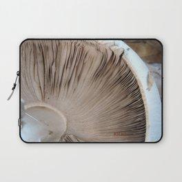 TEXTURES -- Mushroom Uprooted Laptop Sleeve