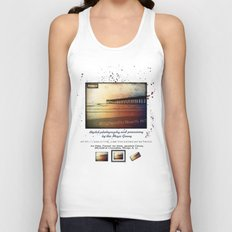 Johnny Mercer's Fishing Pier Unisex Tank Top