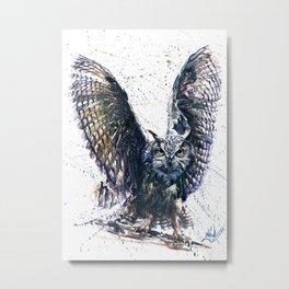 Owl 3 Metal Print