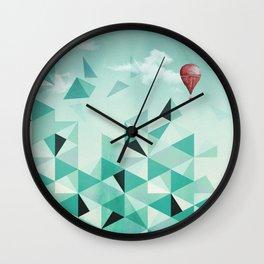 Emerald City (Blue Sky Version) Wall Clock