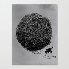 Curiosity Canvas Print