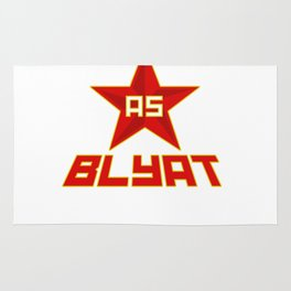 Russian as Blyat Rug