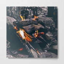 Burn Brightly Metal Print
