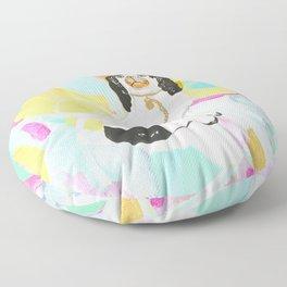 BERNARD ON ABSTRACT Floor Pillow