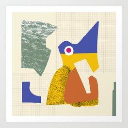 R5 Bird Art Print