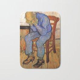 At Eternity's Gate by Vincent van Gogh Bath Mat