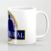 supernatural Mugs featuring Supernatural  by amirshazrin