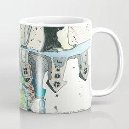 """Woman with Penguins"" Coffee Mug"
