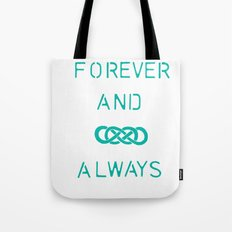 Infinity Squared  Tote Bag