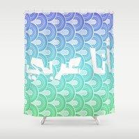 arab Shower Curtains featuring I am Arab  by princess jojo