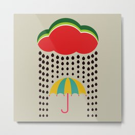 Refreshing watermelon Metal Print