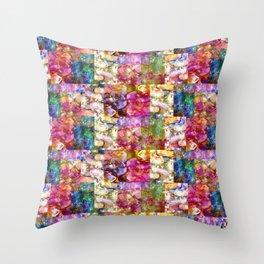 Rose Jeweled Throw Pillow