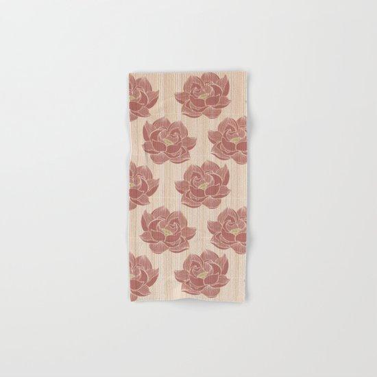 Lótus pattern Hand & Bath Towel