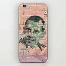 Obama Wall iPhone & iPod Skin