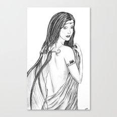 Innocent Seduction of the Fae Canvas Print
