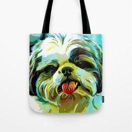The SCHITZU from our POP YOUR POOCH line Tote Bag
