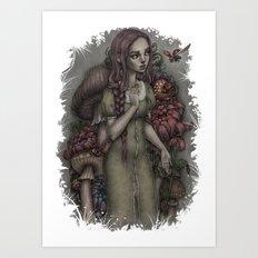 Alison Wunderland Art Print