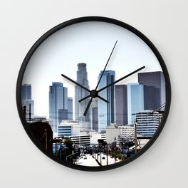 Love Angeles Wall Clock
