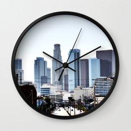 Love Angeles Wall Clock