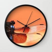 stained glass Wall Clocks featuring Stained Glass by Mark Alder