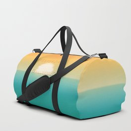 Yesterday is redeemed at sunrise Duffle Bag